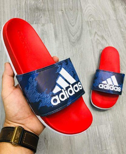 sandalias adidas rojas