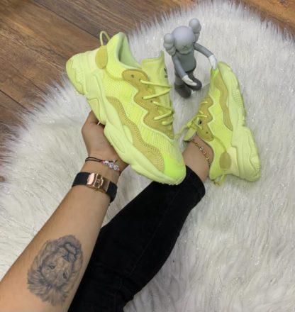 Adidas Ozweego amarillas mujer