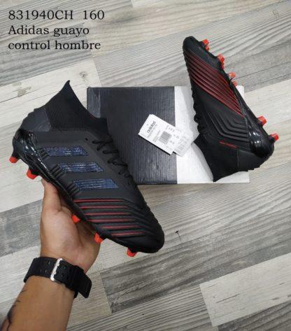 Adidas guayo control hombre negros