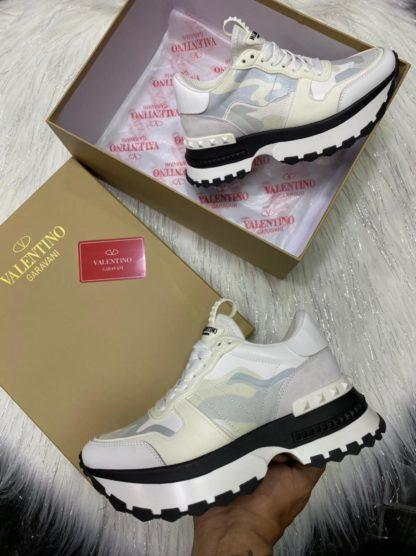 bota prada blanca