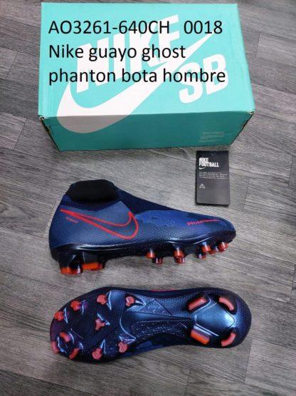 guayos ghost phanton bota gris azul naranja