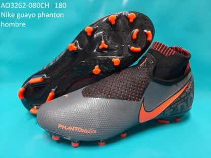 guayos ghost phanton bota gris naranja