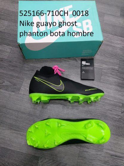 guayos ghost phanton bota gris negros verde hombre