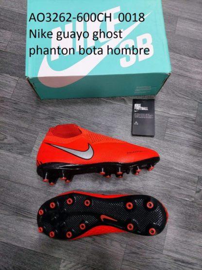 guayos ghost phanton bota gris rojos