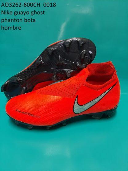 guayos ghost phanton bota rojos