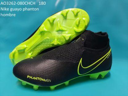 guayos ghost phanton bota rojos negro verde