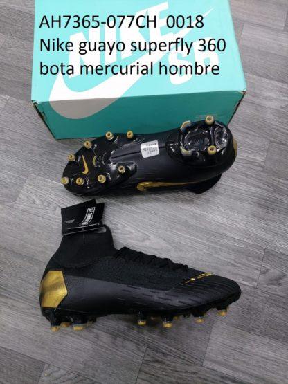 guayos nike 360 superfly bota mercurial hombre
