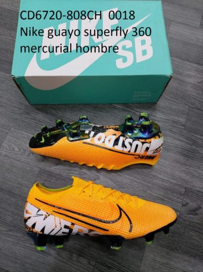 guayos nike 360 superfly mercurial hombre