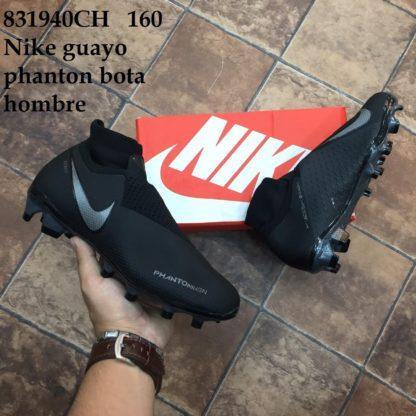 guayos nike phantom bota negros