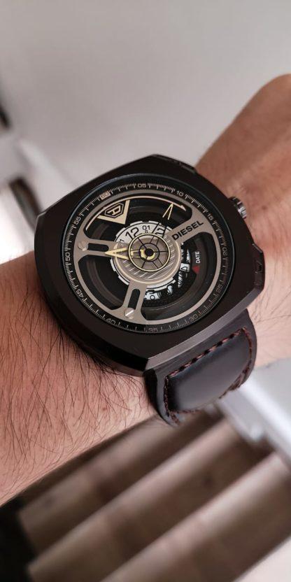 reloj diesel negro hombre
