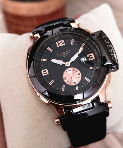 reloj tissot negro