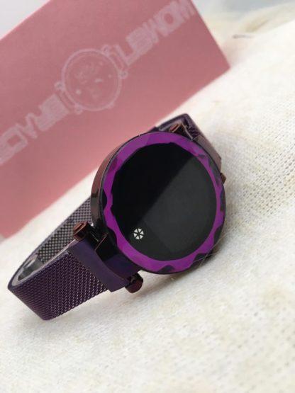 smartwatch mujer morado